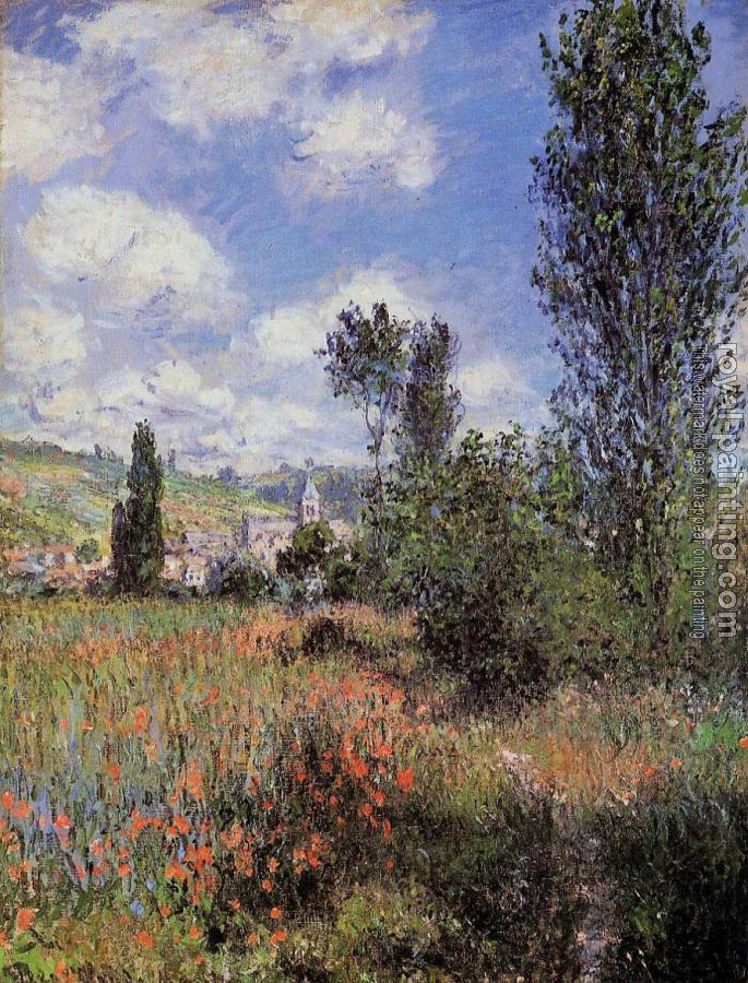 Claude Oscar Monet : Lane in the Poppy Fields, Ile Saint-Martin